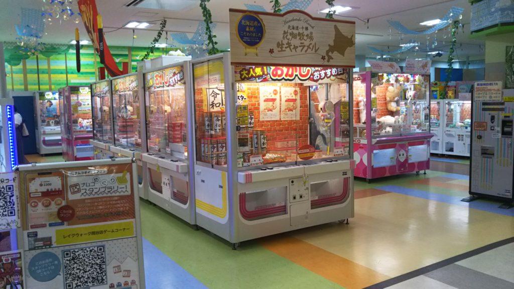 レイクウォーク岡谷ゲームセンター